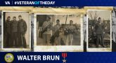 Army Veteran Walter C. Brun is today's Veteran of the Day.