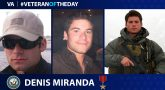 Navy Veteran Denis Miranda is today's Veteran of the Day.