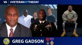 Army Veteran Gregory D. Gadson is today's Veteran of the Day.