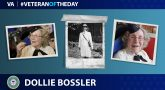 Coast Guard Veteran Dollie Bossler is today's Veteran of the Day.
