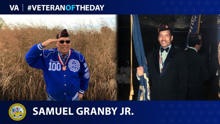 Army Veteran Samuel Granby Jr. is today's Veteran of the Day.