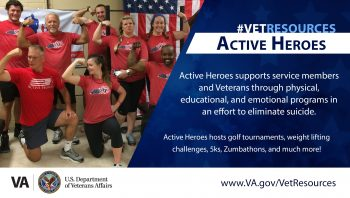 Active Heroes non-profit strives to end Veteran suicide through activities, peer support and more.