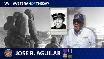 Marine Corps Veteran Jose Refugio Aguilar is today's Veteran of the Day.
