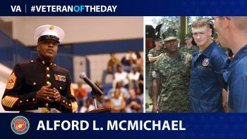 Marine Corps Veteran Alford L. McMichael is today's Veteran of the Day.