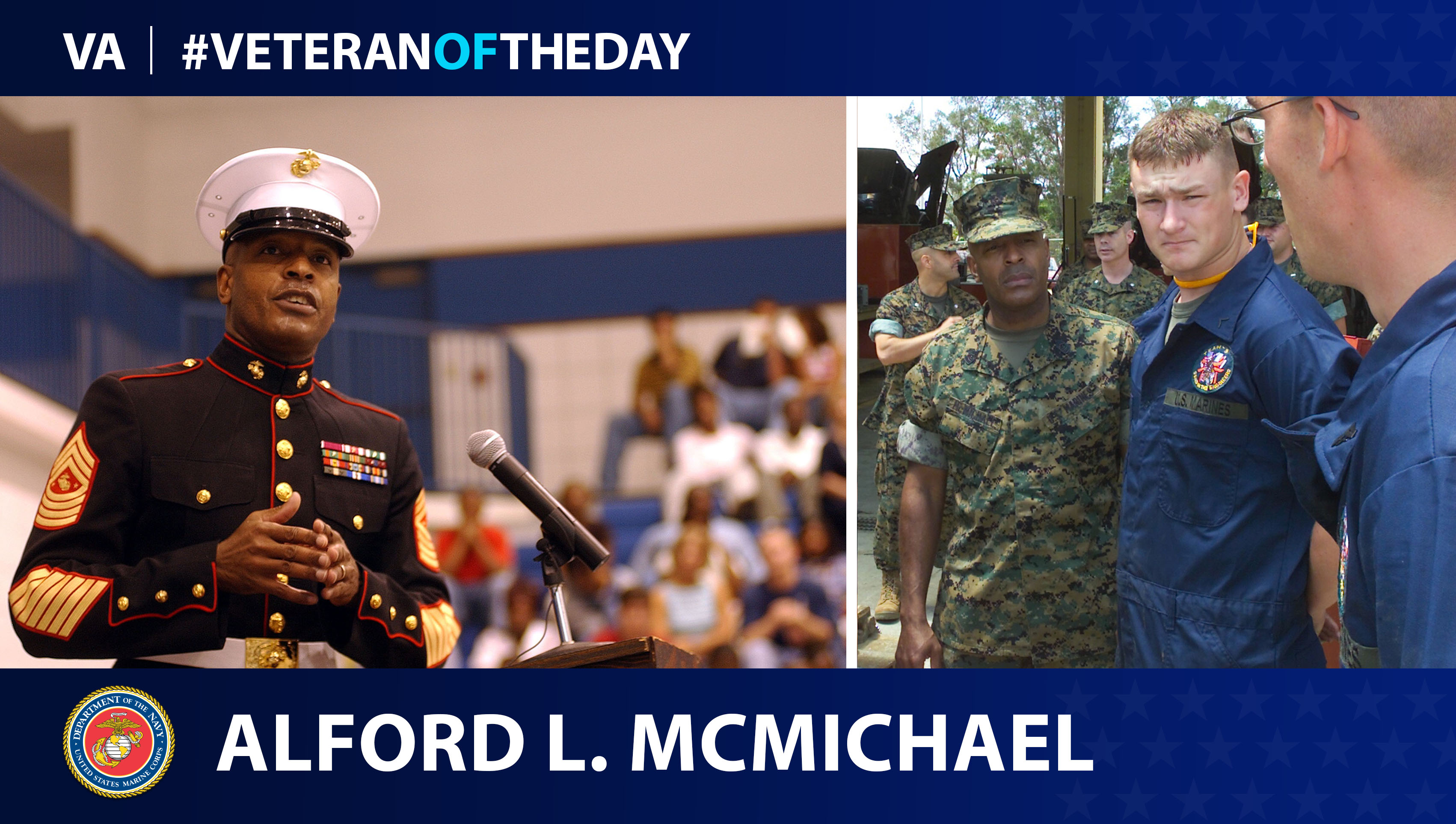 Veteran of the Day...Alford L. McMichael