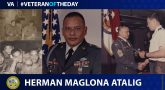Army Veteran Herman Manglona Atalig is today's Veteran of the Day.