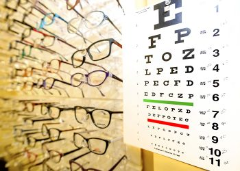 photo of eye chart and frames