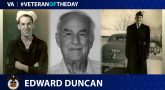 Merchant Marine Veteran Edward Lavelle Duncan is today's Veteran of the Day.
