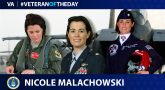 Air Force Veteran Nicole Malachowski is today's Veteran of the Day.