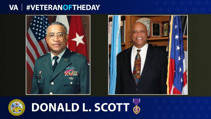 "Army Veteran Donald ""Don"" L. Scott is today's Veteran of the Day."