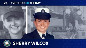 Navy Veteran Sherry Wilcox is today's Veterans of the Day.