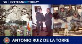 Marine Corps Veteran Antonio Ruiz De La Torre is today's Veteran of the Day.