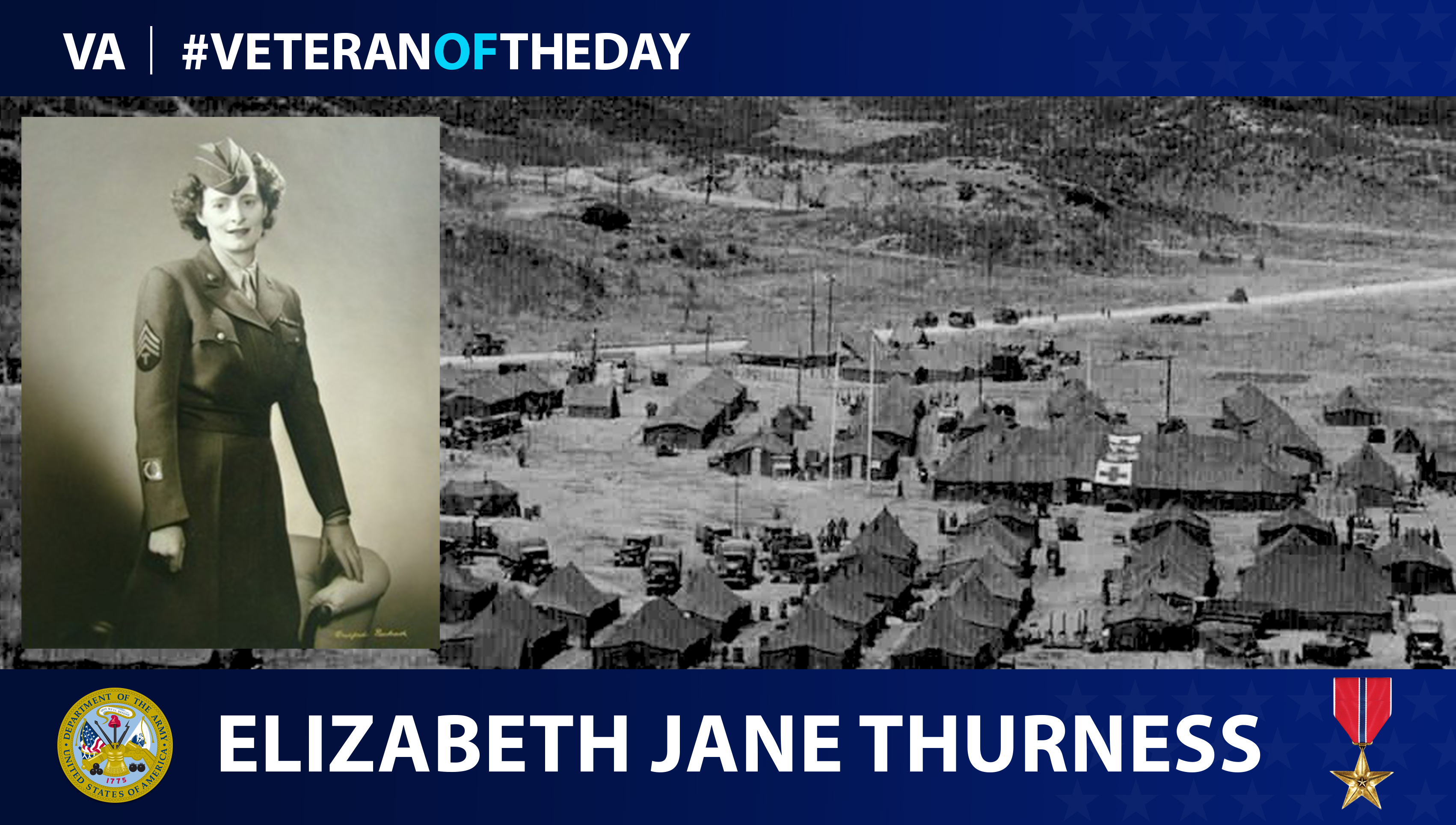 Veteran of the Day...Elizabeth Jane Thurness