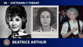 Marine Veteran Bea Arthur is today's Veteran of the Day.