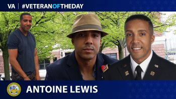 Army Veteran Antoine Lewis is today's Veteran of the Day.
