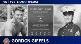 #VeteranOfTheDay Marine Veteran Gordon Giffels