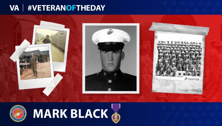 Marine Veteran Mark R. Black is today's Veteran of the Day.