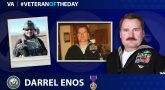 Navy Veteran Darrel L. Enos is today's Veteran of the Day.