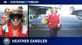 Navy Veteran Heather Lori Belanger Sandler is today's Veteran of the Day.