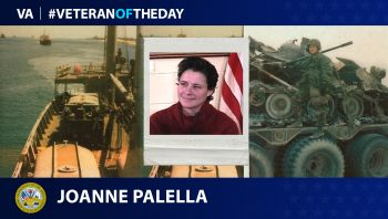 Army Veteran Joanne Palella is today's Veteran of the Day.
