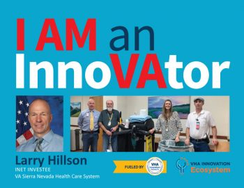 VHA Innovators Network Innovator of the Month.