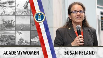 AcademyWomen was created by Air Force Veter Susan Feland.