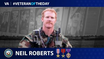 Navy Veteran Neil C. Roberts is today's Veteran of the Day.