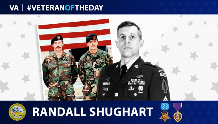 Army Veteran Randall Shughart is today's Veteran of the Day.