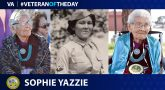 Army Veteran Sophie Yazzie is today's Veteran of the Day.