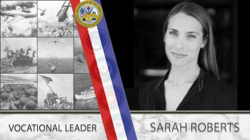 Army Veteran Sarah Roberts creates employment opportunities for Veterans.