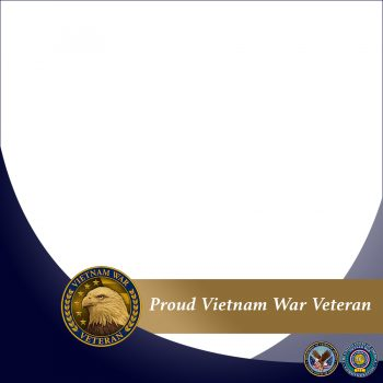 VA created a Facebook frame for Vietnam War Veterans.