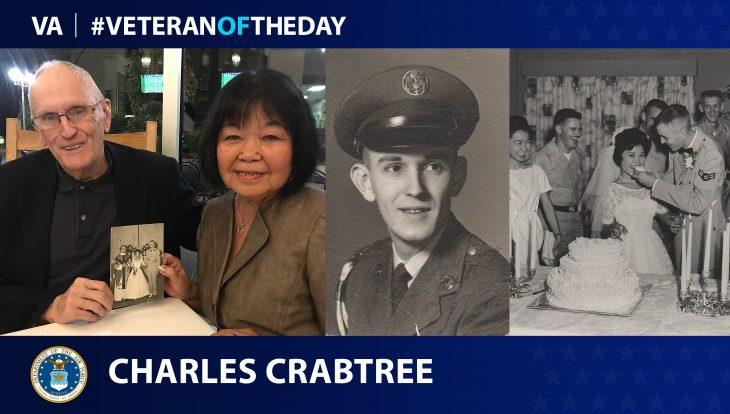 Air Force, Army and Navy Veteran Charles Crabtree is today's Veteran of the Day.