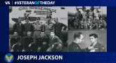 Army Air Forces Veteran Joseph M. Jackson is today's Veteran of the Day.