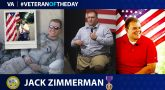 Army Veteran Jack Zimmerman is today's Veteran of the Day.
