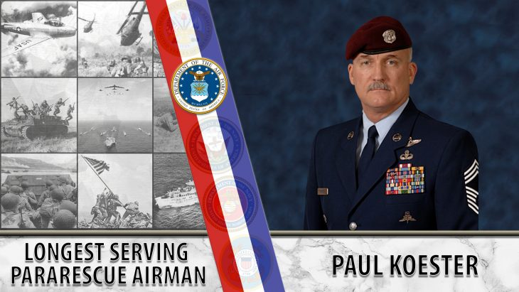 Air Force Veteran Paul Koester was the longest-serving pararescue airman in history.