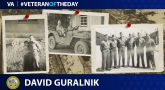Army Veteran David Guralnik is today's Veteran of the Day.