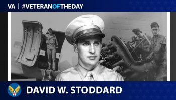 Army Air Forces Veteran David W. Stoddard is today's Veteran of the Day.