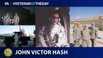Army Veteran John Victor Hash is today's Veteran of the Day.
