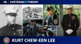 Marine Corps Veteran Kurt Chew-Een Lee is today's Veteran of the Day.
