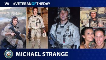 Navy Veteran Michael Strange is today's Veteran of the Day.