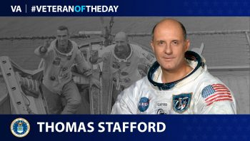 Air Force Veteran Thomas P. Stafford is today's Veteran of the Day.