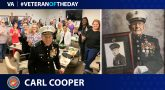 Marine Corps Veteran Carl Cooper is today's Veteran of the Day.