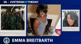 Air Force Veteran Emma Breitbarth is today's Veteran of the Day.