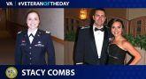 Army Veteran Stacy Combs is today's Veteran of the Day.