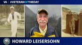 Navy Veteran Howard Leisersohn is today's Veteran of the Day.