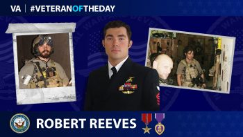 Navy Veteran Robert Reeves is today's Veteran of the Day.