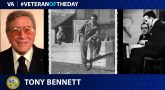 Army Veteran Tony Bennett is today's Veteran of the Day.