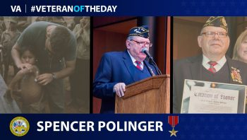 Army Veteran Spencer Polinger is today's Veteran of the Day.