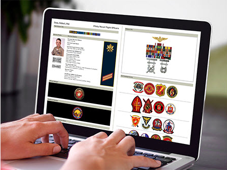 Create your own military service page on the Together We Served site.