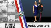 Melissa Washington is a Navy Veteran and woman Veteran entrepreneur.